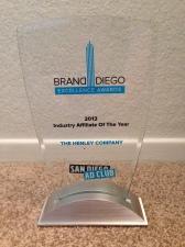 San Diego Ad Club Award
