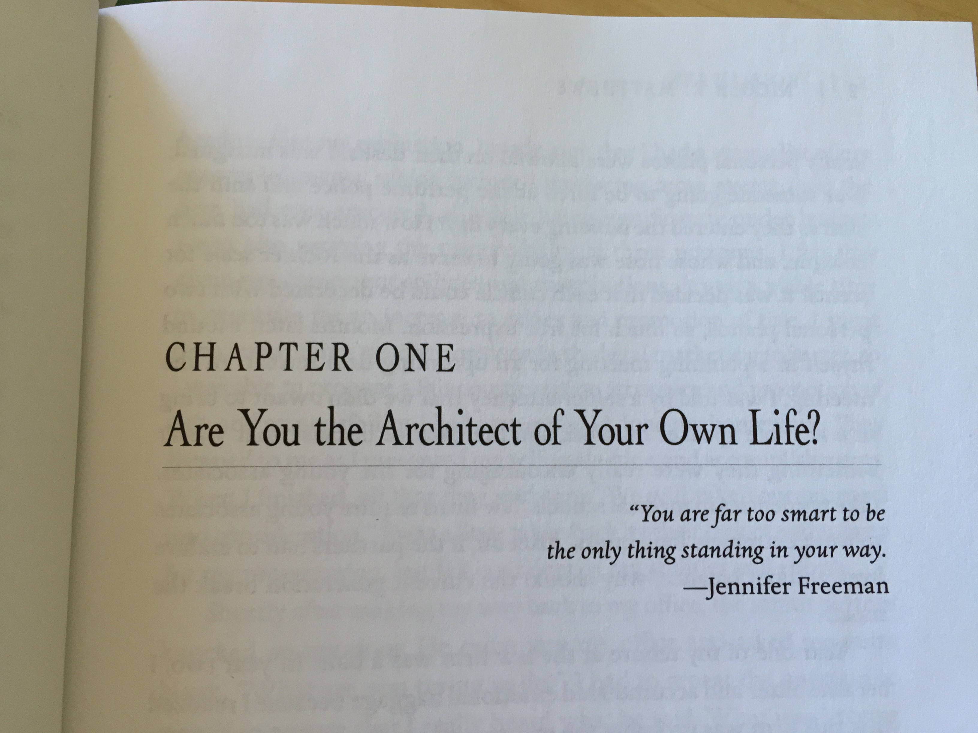 are you the architect of your own life the henley company